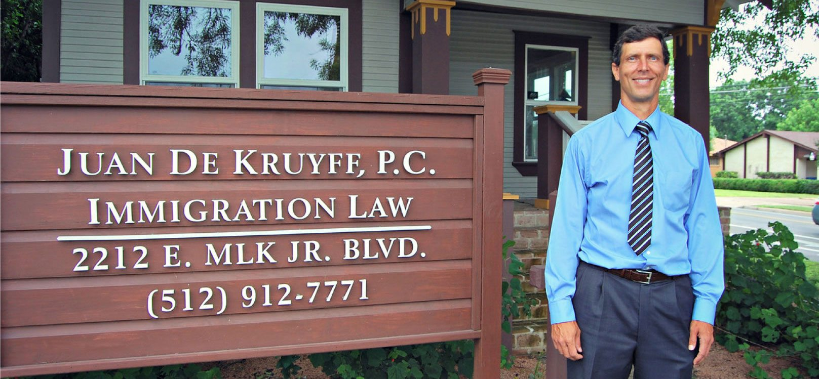 Immigration Lawyer Juan Dekruyff, P C  | Austin, Texas